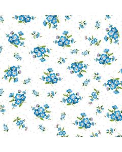 Forget Me Not - 4 Napkins for Decoupage