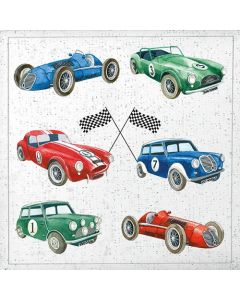 Classic Cars - 4 Napkins for Decoupage