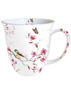 Bird and Blossom  0.4L Bone China Mug - Ambiente Mug