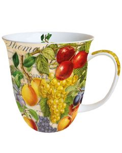 Autumn Fruit  0.4L Bone China Mug - Ambiente Mug