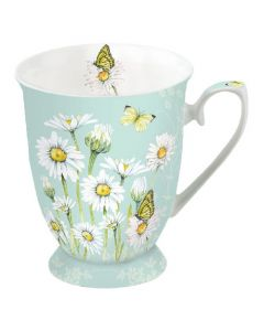 Daisy Green  0.25L Bone China Mug - Ambiente Mug