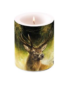 Ambiente Pillar Candle Proud Deer