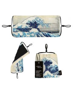 Museums and Galleries British Museum The Great Wave Face Covering
