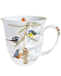 All Together  0.4L Bone China Mug - Ambiente Mug