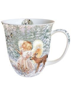 Winter Angel  0.4L Bone China Mug - Ambiente Mug