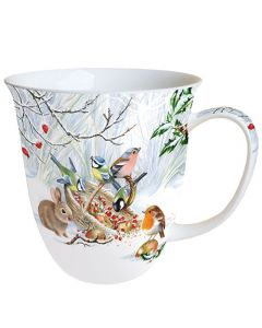 Winter Treat  0.4L Bone China Mug - Ambiente Mug