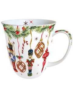 Nutcrackers Decoration  0.4L Bone China Mug - Ambiente Mug