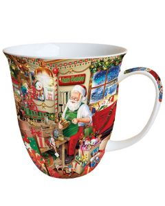 Santa's Workshop  0.4L Bone China Mug - Ambiente Mug