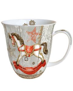 Rocking Horse  0.4L Bone China Mug - Ambiente Mug