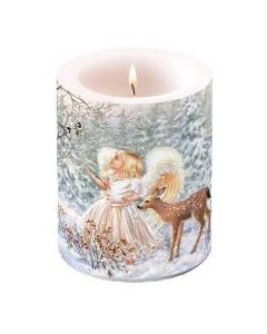 Ambiente Pillar Candle Winter Angel