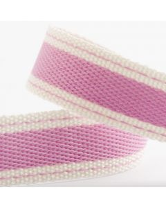 Italian Options Cotton Twill Ribbon Candy Pink