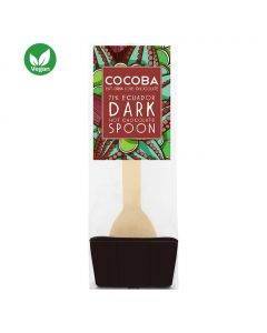 Cocoba 71% Equador Dark Hot Chocolate Spoon