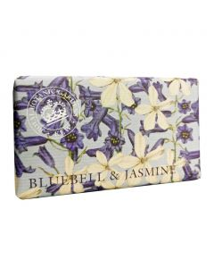 The English Soap Company Kew Gardens Bluebell and Jasmine Soap Bar
