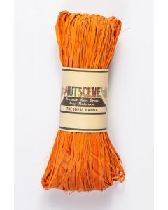 Nutscene Raffia Burnt Orange50g