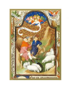 Annunciation to the Shepherds  #CMBX410 - Pack of 8 Cards