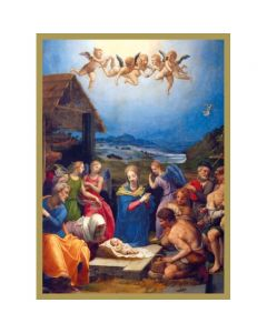 Adoration of the Shepherds  #CMBX414 - Pack of 8 Cards