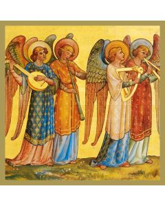 Angel Musicians  #CMHX405 - Pack of 5 Cards