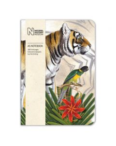 Museums and Galleries Natural History Museum A5 Bengal Tiger Notebook