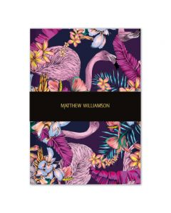 Museums and Galleries Matthew Williamson Flamingo Bay Deluxe Notebook