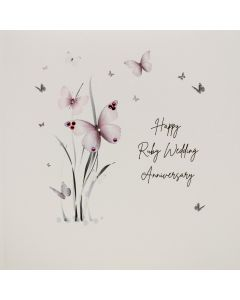 Five Dollar Shake Anniversary Card Ruby Wedding Anniversary
