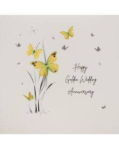 Five Dollar Shake Anniversary Card Golden Wedding Anniversary