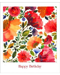 Following Dreams - KP112  Kim Parker Floral Card