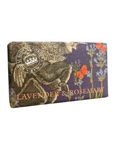 The English Soap Company Kew Gardens Lavender and Rosemary Soap Bar
