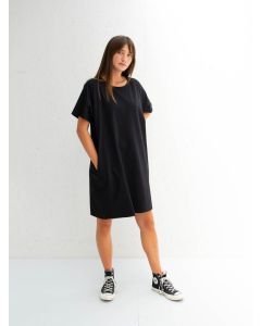 Chalk UK Linda Dress Black
