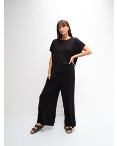 Chalk UK Luna Pants Black Drape Jersey