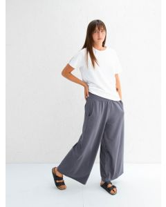 Chalk UK Luna Pants Charcoal Heavy Jersey