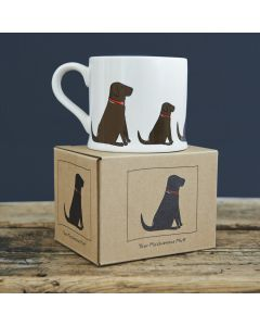 Chocolate Labrador - Sweet William Dog Mug