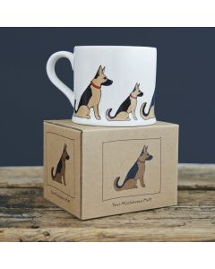 German Shepherd - Sweet William Dog Mug