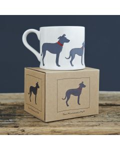Lurcher - Sweet William Dog Mug