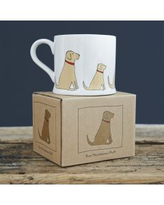 Yellow Labrador - Sweet William Dog Mug