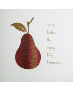 To The Perfect Pair! Happy Ruby Anniversary. - #NE15