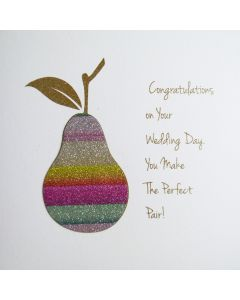 Congratulations on Your Wedding Day. You Make The Perfect Pair! - #NE21