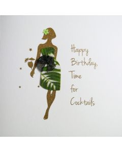 Happy Birthday Time for Cocktails - #NE41