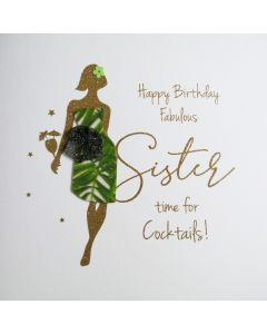 Happy Birthday Fabulous Sister time for Cocktails! - #NE55