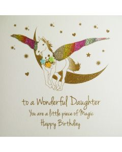 To a Wonderful Daughter, You are a Little Piece of Magic,  - #NE56