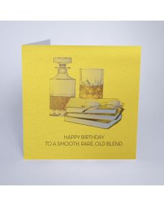 Five Dollar Shake Birthday Card Happy Birthday to a Smooth, Rare, Old Blend