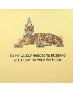 Five Dollar Shake Birthday Card To My Wildly Handsome Husband - Birthday