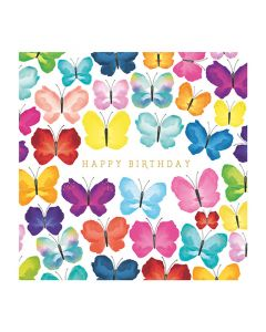 The Art File Natural Phenomenon Birthday Card Butterflies
