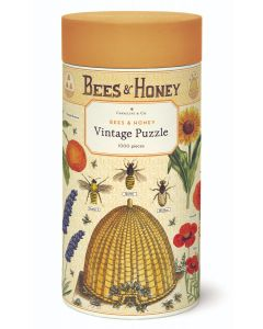Bees and Honey - Cavallini Vintage Puzzle