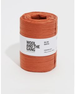 Wool and The Gang Ra Ra Raffia Cinnamon Dust