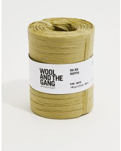 Wool and The Gang Ra Ra Raffia Dune Green