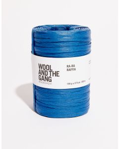 Wool and The Gang Ra Ra Raffia Riviera Blue