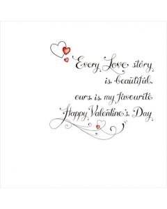 T'Too Valentine's Day Card Every Love Story