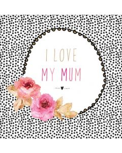 Sara Miller London Mother's Day Card I Love My Mum