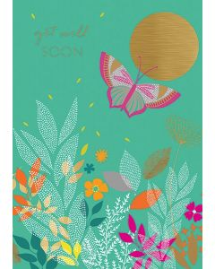 Sara Miller London - Get Well Soon Floral Butterfly - SAM34