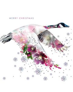 Lola Design Canadian Goose Merry Christmas Card